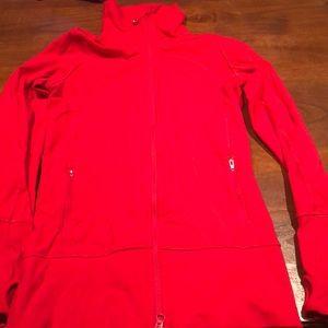 Red Lululemon Define jacket